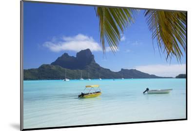 Bora Bora, Society Islands, French Polynesia-Ian Trower-Mounted Photographic Print
