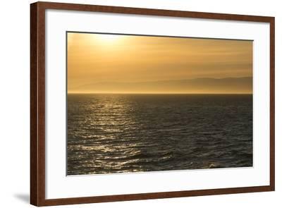 Washington, Canada, British Columbia. Strait of Juan De Fuca, Vancouver Island, Evening Light-Trish Drury-Framed Photographic Print