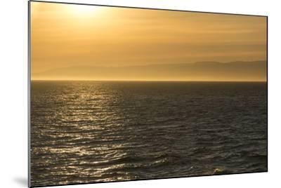 Washington, Canada, British Columbia. Strait of Juan De Fuca, Vancouver Island, Evening Light-Trish Drury-Mounted Photographic Print