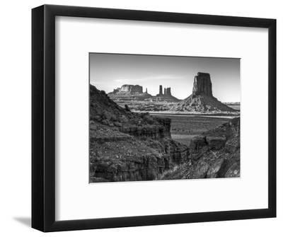USA, Utah, Monument Valley, View of Buttes-Ann Collins-Framed Photographic Print