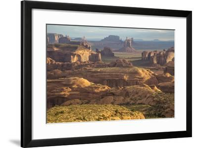 USA, Utah, Monument Valley. View of Rock Formations-Jaynes Gallery-Framed Photographic Print