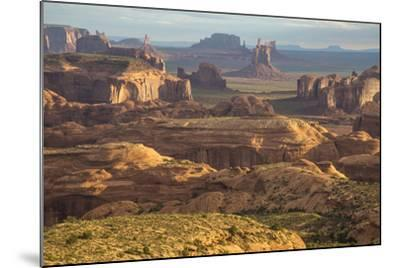 USA, Utah, Monument Valley. View of Rock Formations-Jaynes Gallery-Mounted Photographic Print