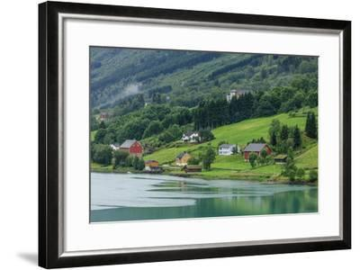 Buildings. Architecture. Olden, Norway-Tom Norring-Framed Photographic Print