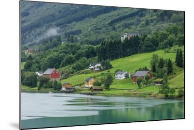 Buildings. Architecture. Olden, Norway-Tom Norring-Mounted Photographic Print