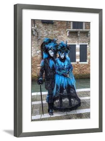 Venice at Carnival Time, Italy-Darrell Gulin-Framed Photographic Print