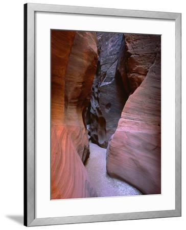 Arizona-Utah Border, Vermilion Cliffs National Monument-John Barger-Framed Photographic Print