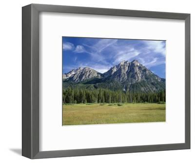 Idaho, Sawtooth National Recreation Area-John Barger-Framed Photographic Print
