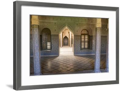 Morocco, Agdz, the Kasbah of Telouet Fortress-Emily Wilson-Framed Photographic Print