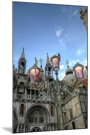 St. Marks and Lamp Post, Venice, Italy-Darrell Gulin-Mounted Photographic Print