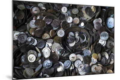 Pile of Old Buttons, New York City, New York, USA-Julien McRoberts-Mounted Photographic Print