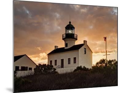 USA, California, San Diego, Old Point Loma Lighthouse at Cabrillo National Monument-Ann Collins-Mounted Photographic Print