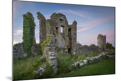 Ruins of Original Crom Castle, County Fermanagh, Northern Ireland, Uk-Brian Jannsen-Mounted Photographic Print