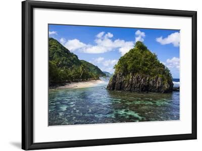 East Coast of Tutuila Island, American Samoa, South Pacific-Michael Runkel-Framed Photographic Print