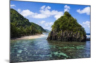 East Coast of Tutuila Island, American Samoa, South Pacific-Michael Runkel-Mounted Photographic Print