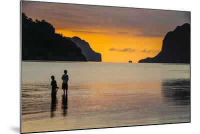 Bacuit Archipelago, Palawan, Philippines-Michael Runkel-Mounted Photographic Print