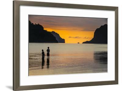 Bacuit Archipelago, Palawan, Philippines-Michael Runkel-Framed Photographic Print