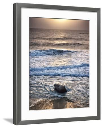 USA, California, Big Sur, Sunset at Garrapata State Beach-Ann Collins-Framed Photographic Print