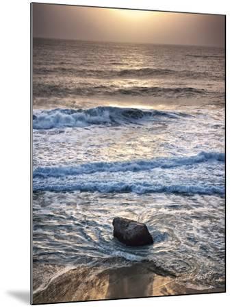 USA, California, Big Sur, Sunset at Garrapata State Beach-Ann Collins-Mounted Photographic Print