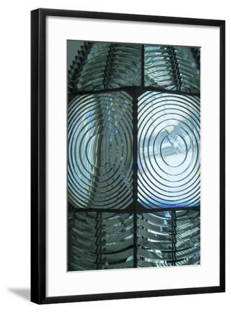 Fire Island, New York. Close Up of the Antique Fresnel Lighthouse Beacon-Julien McRoberts-Framed Photographic Print
