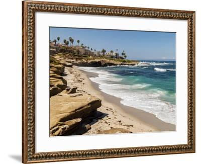 USA, California, La Jolla, Wipeout Beach-Ann Collins-Framed Photographic Print