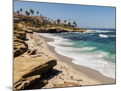 USA, California, La Jolla, Wipeout Beach-Ann Collins-Mounted Photographic Print