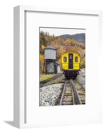 USA, New Hampshire, White Mountains, Bretton Woods, Mount Washington Cog Railway-Walter Bibikow-Framed Photographic Print
