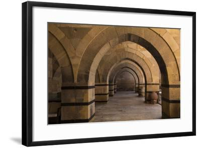 Turkey, Cappadocia. Caravanserais Interior Architecture-Emily Wilson-Framed Photographic Print