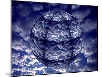 Concept of 3D Earth Climate-Jaynes Gallery-Mounted Photographic Print