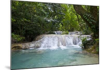 Beautiful Mele-Maat Cascades in Port Vila, Island of Efate, Vanuatu, South Pacific-Michael Runkel-Mounted Photographic Print