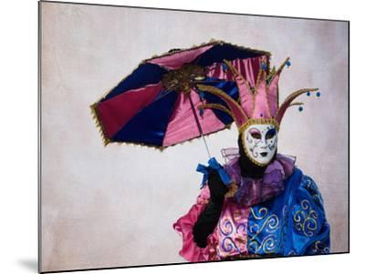 Elaborate Costume for Carnival, Venice, Italy-Darrell Gulin-Mounted Photographic Print