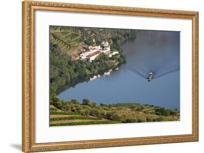 Douro Valley, Douro River, Porto. Valley Is Lined with Steeply Sloping Hills and Vineyards-Emily Wilson-Framed Photographic Print