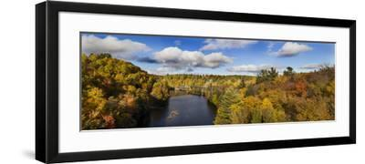 Fall Color Dead River Marquette County in the Upper Peninsula, Michigan-Richard and Susan Day-Framed Photographic Print