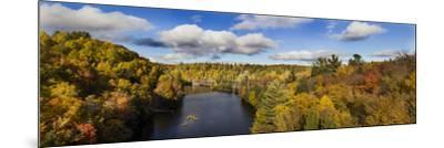 Fall Color Dead River Marquette County in the Upper Peninsula, Michigan-Richard and Susan Day-Mounted Photographic Print