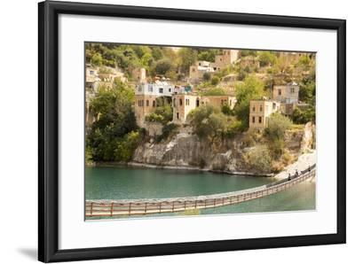 Halfeti, a Small Farming Region on the East Bank of the River Euphrates in Sanliurfa Province-Emily Wilson-Framed Photographic Print
