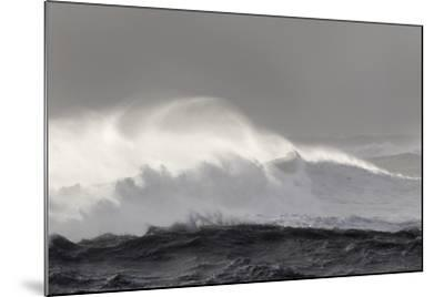 North Atlantic Coast Near Vik Y Myrdal During a Winter Storm with Heavy Gales-Martin Zwick-Mounted Photographic Print