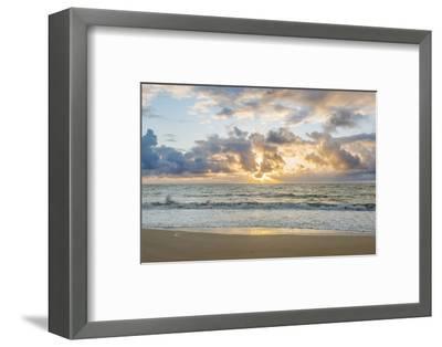 Hawaii, Kauai, Kealia Beach Sunrise-Rob Tilley-Framed Photographic Print