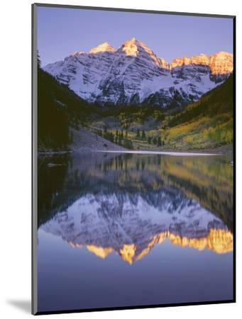 USA, Colorado, White River National Forest, Maroon Bells Snowmass Wilderness-John Barger-Mounted Photographic Print