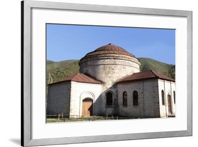 Azerbaijan, Sheki. A 6th-Century Caucasian Albanian Church-Alida Latham-Framed Photographic Print