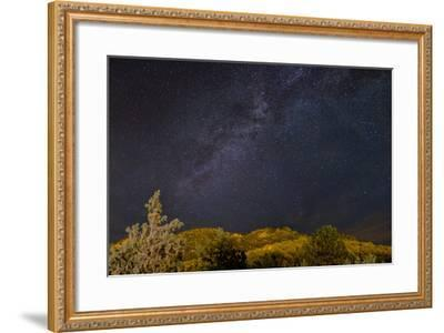USA, Colorado. Milky Way Above Mountains-Jaynes Gallery-Framed Photographic Print