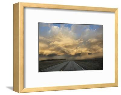 USA, Colorado. Spring Storm Clouds at Sunrise Above South Park-Jaynes Gallery-Framed Photographic Print