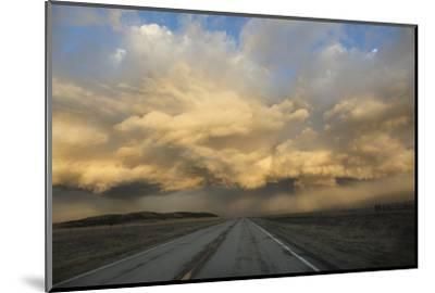 USA, Colorado. Spring Storm Clouds at Sunrise Above South Park-Jaynes Gallery-Mounted Photographic Print