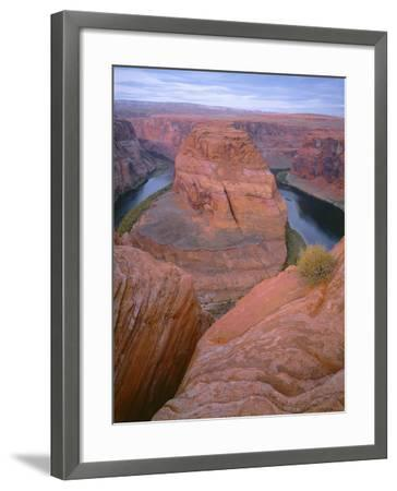 USA, Arizona, Glen Canyon National Recreation Area, Horseshoe Bend on the Colorado River-John Barger-Framed Photographic Print