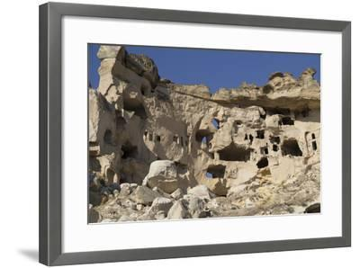 Turkey. Christian Cave Churches and Monasteries in Cappadocia Turkey-Emily Wilson-Framed Photographic Print