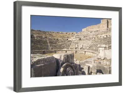 Turkey, the Ruins of Miletus, a Major Ionian Center of Trade and Learning in the Ancient World-Emily Wilson-Framed Photographic Print
