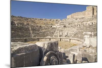 Turkey, the Ruins of Miletus, a Major Ionian Center of Trade and Learning in the Ancient World-Emily Wilson-Mounted Photographic Print