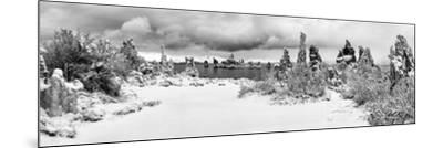 South Tufa Area, Panoramic View of Tufa Formations at Dawn after a Fresh Snowfal-Ann Collins-Mounted Photographic Print