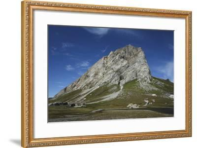 Svalbard, Hornsund, Sor-Spitsbergen National Park, Gnalodden. View of Gnalberget Mountain-Aliscia Young-Framed Photographic Print