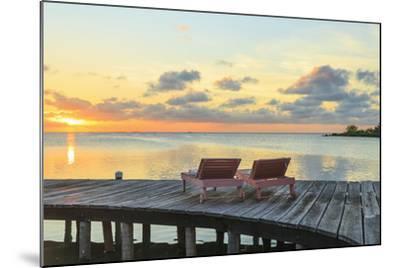 Saint Georges Caye Resort, Belize-Stuart Westmorland-Mounted Photographic Print