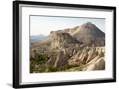 Turkey, Cappadocia Is a Historical Region in Central Anatolia. Fairy Chimneys-Emily Wilson-Framed Photographic Print