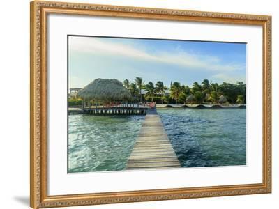 Saint Georges Caye Resort, Belize, Central America-Stuart Westmorland-Framed Photographic Print
